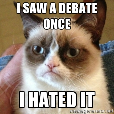 debate cat