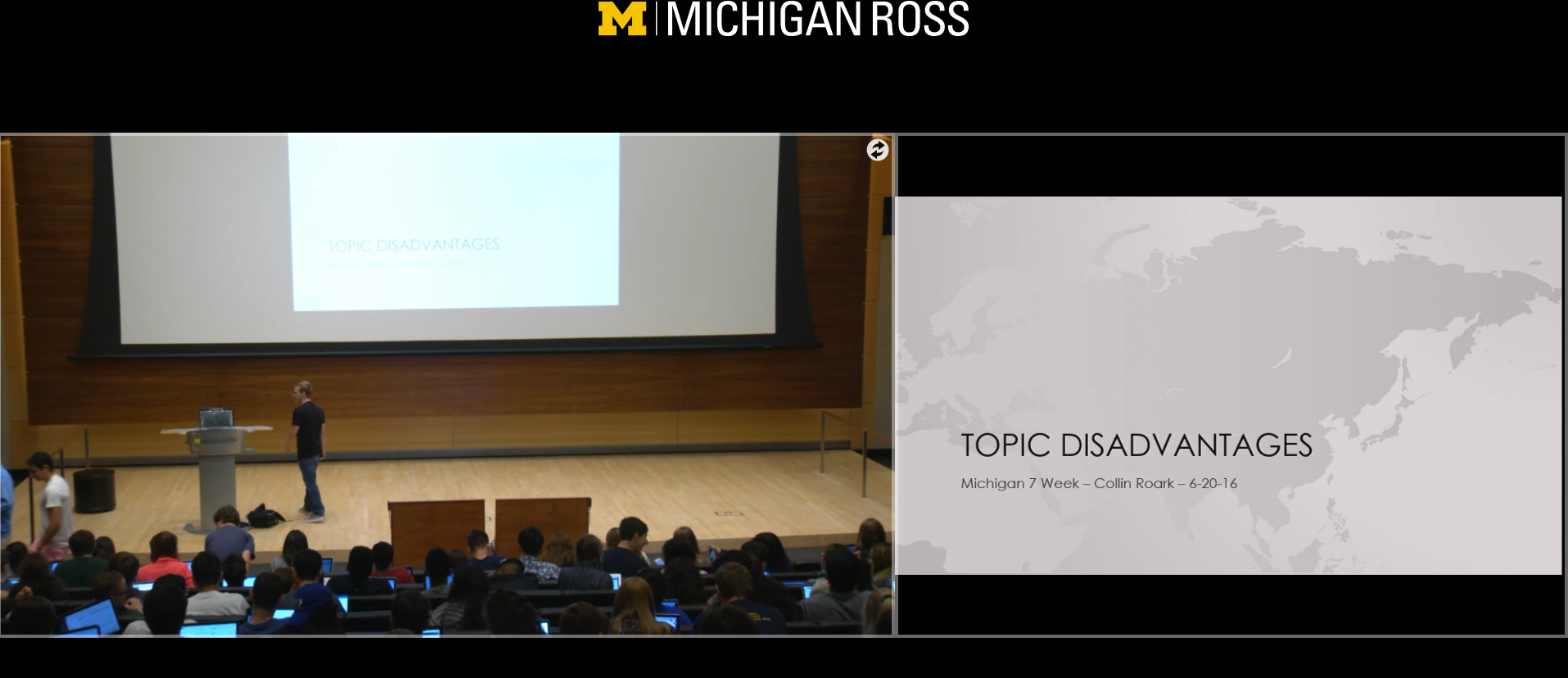 Michigan Camp Lectures 1: Chinese Economy & Disads on the Topic